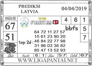 """Prediksi Togel """"LATVIA"""" PANTAI4D 04 APRIL 2019"""