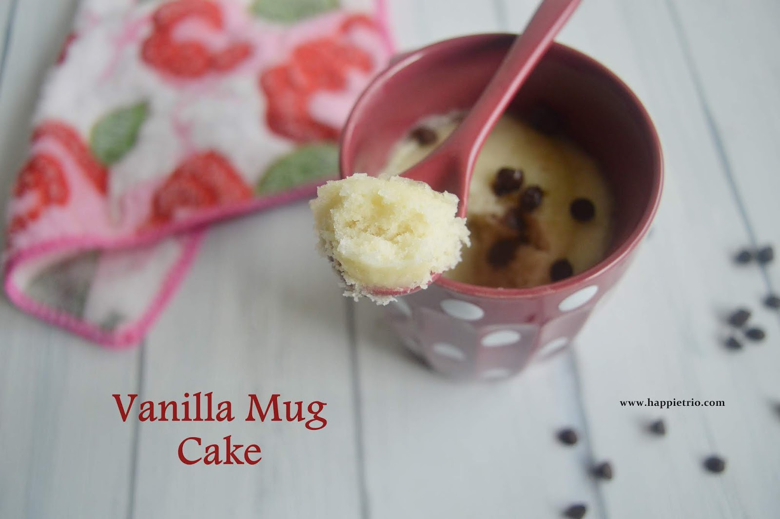 Microwave Vanilla Cake Recipes In A Mug: Eggless Microwave Vanilla Cake
