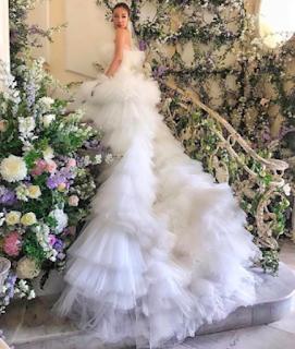 abito da sposa fashion giambattista valli matrimoni vip italia