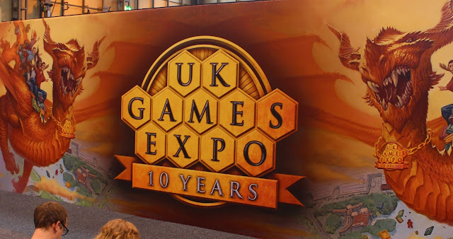UKGE - UK Games Expo 10 Years banner