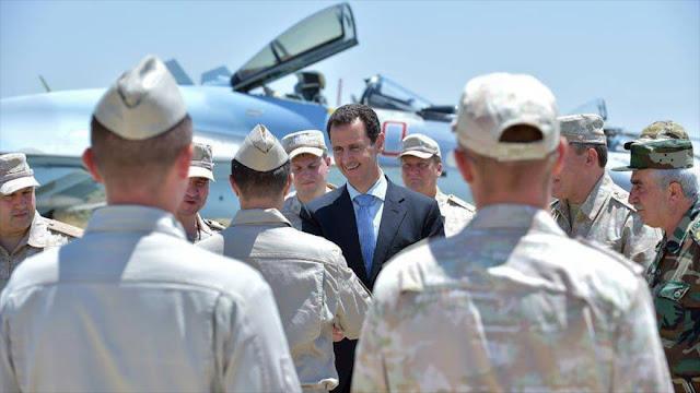 Rusia no reducirá su tropa en Siria tras aniquilar el terrorismo
