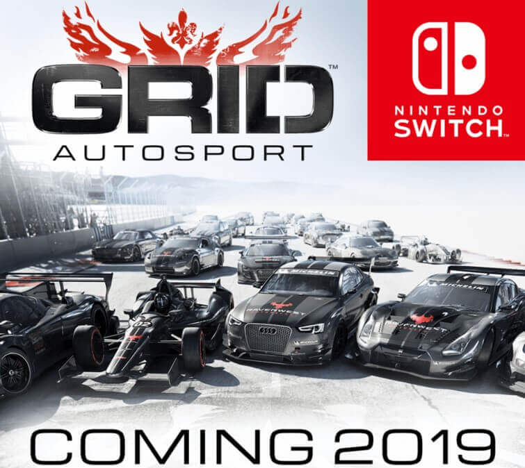 GRID Autosport Will Release On Nintendo Switch In 2019