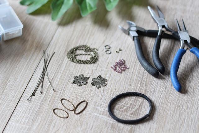 headband, bijoux de tête, tutoriel, DIY, MyMy CraCra, bijoux, La Perle des Loisirs