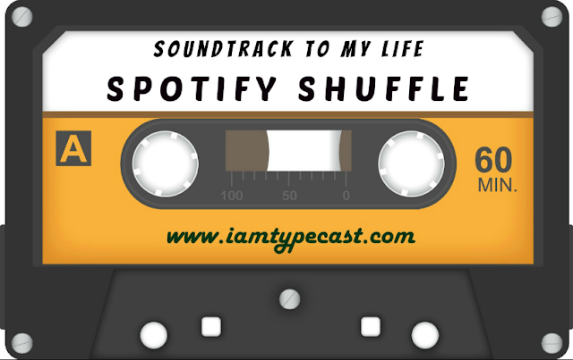 "Soundtrack To My Life : Spotify Shuffle - This music tag reminded me of a couple of posts that I'd done WAA-AAA-AAAY back in the day where you put your music library on ""shuffle"" and see what comes up. Here is my 2018 version, via my Spotify account..."