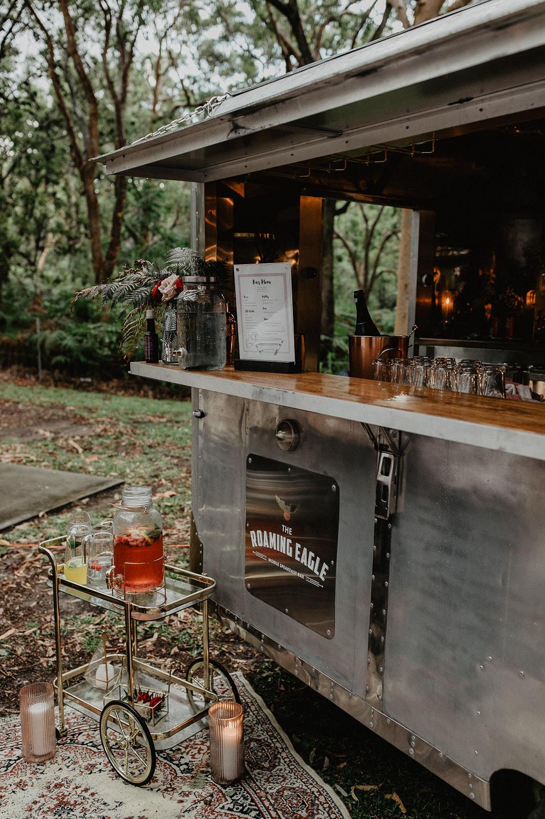 vladan gajic rustic vintage mobile wedding caravan bar hire newcastle