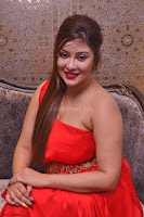 Payal Ghosh Looks Stunning in Red Half Shoulder Gown 026.JPG