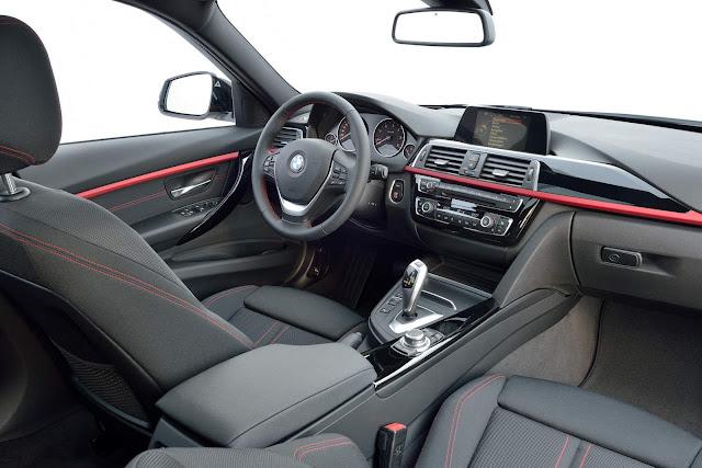 BMW Série 3 2016 - interior