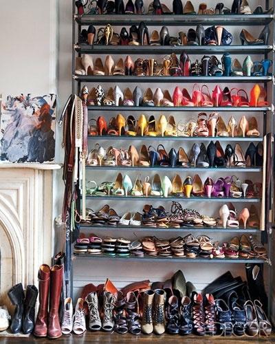 Jenna Lyons  luxury fantasy closet