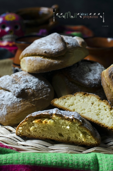 como preparar pan muerto, receta mexicana
