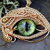 Woven Wire Evil Eye Jewelry by Twisted Sister Arts