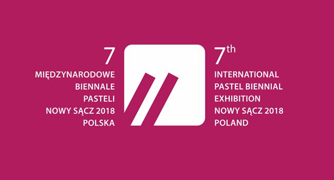 7. Międzynarodowe Biennale Pasteli - logo