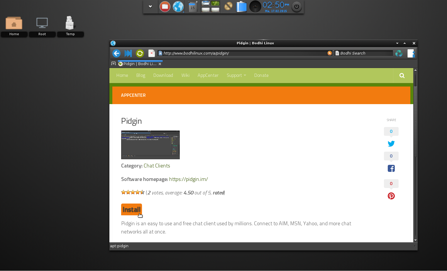 Bodhi Linux 3 0 0 Available For Download ~ Web Upd8