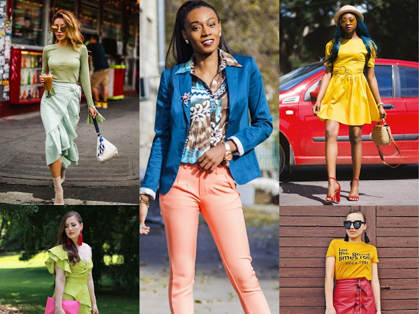 5 BEST BLOGGERS SHOW YOU HOW TO COLOR BLOCK
