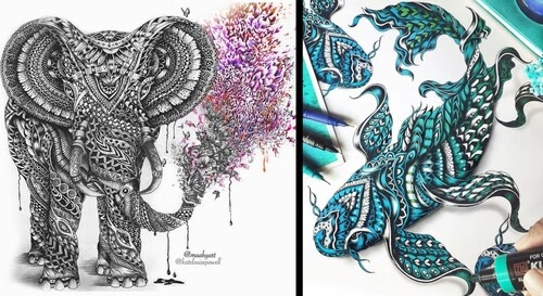 00-Maahy-Drawings-Given-the-Zentangle-Treatment-www-designstack-co