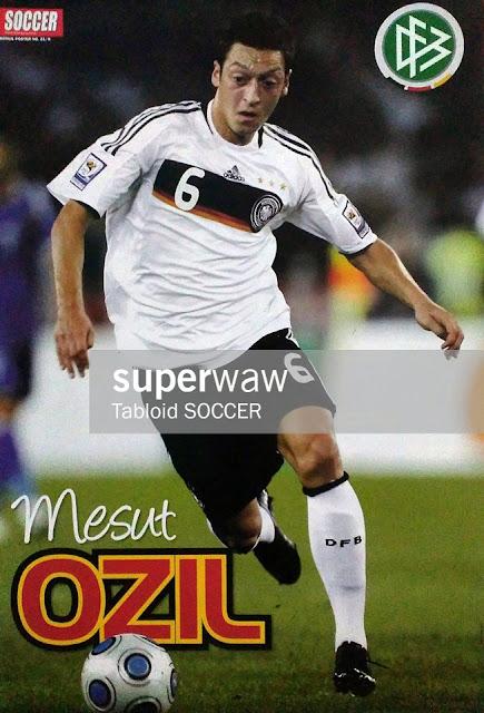 Mesut Ozil Jerman 2008