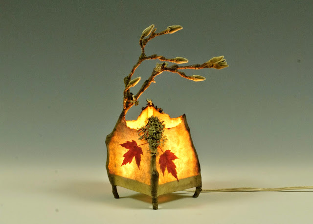 art natural lamp