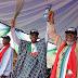 JUST IN: President Buhari,Saraki, Others Storm Akure  for APC Governorship Rally