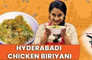 HYDERABADI CHICKEN BIRIYANI | GET SET COOK BY ANUHASAN | JFW COOKING