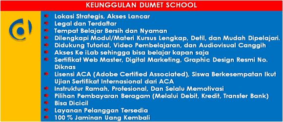 Kursus Web Master dan Internet Marketing Jakarta Depok Tangerang