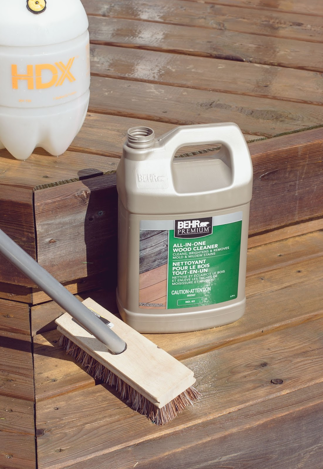 Diy Deck Cleaner My Daily Randomness Hdblogsquad How To Clean