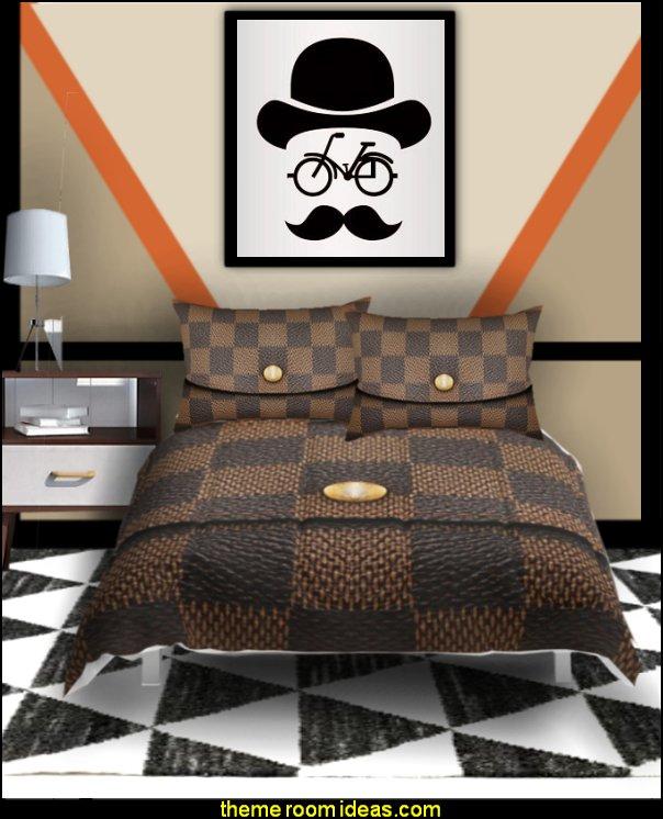Hipster guy bedroom