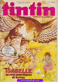 Tintin-numéro 10, année 38, 1983, Servais