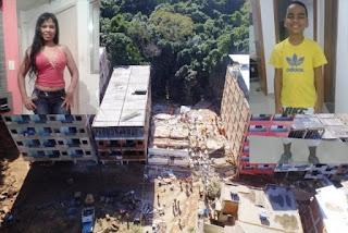 Desabamento no Rio Janeiro