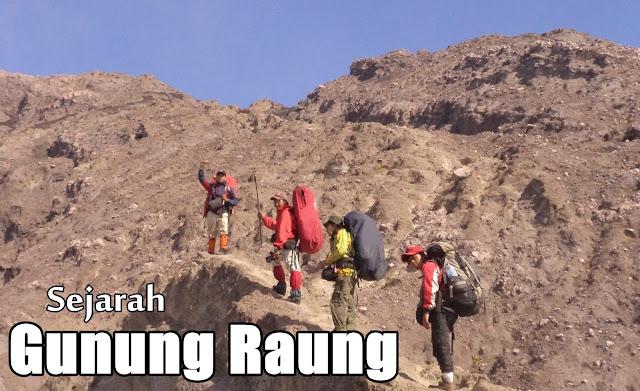 sejarah gunung raung yang mengerikan