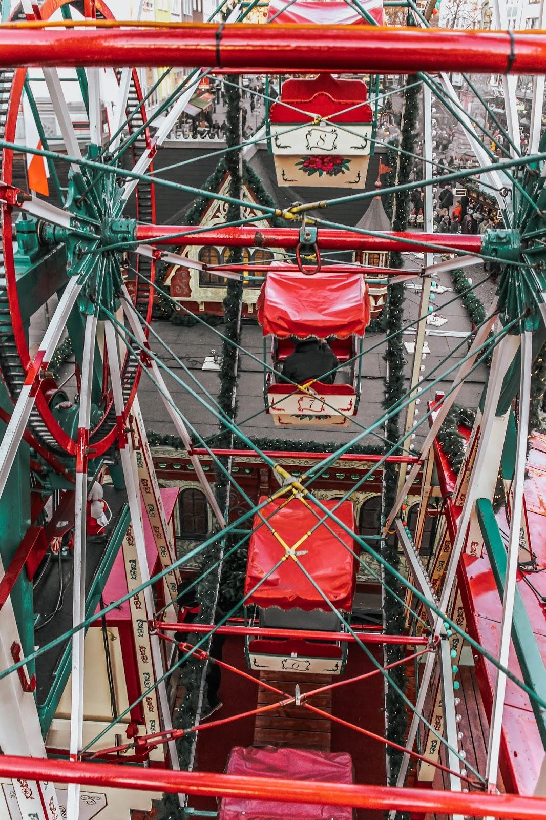 German Christmas Market Ferris Wheel
