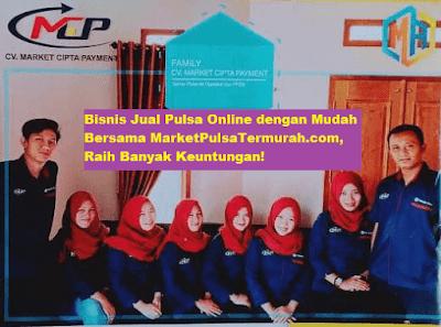 Bisnis Jual Pulsa Online dengan Mudah Bersama Market Pulsa, Raih Banyak Keuntungan!