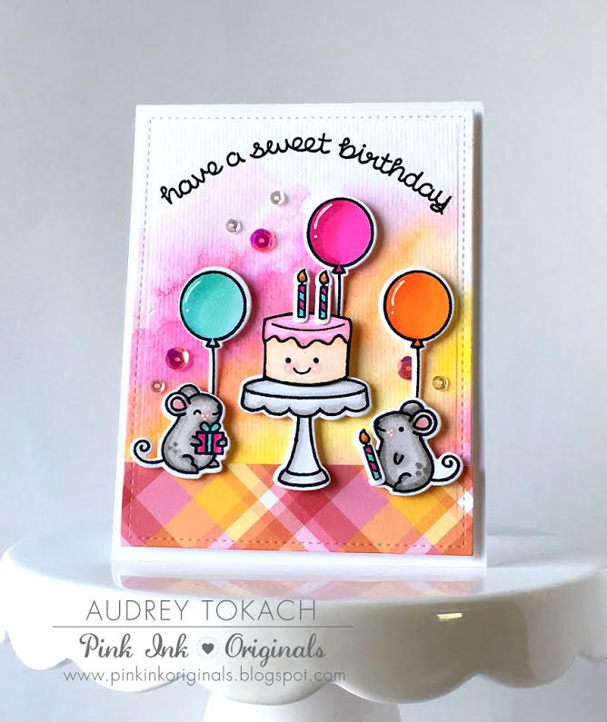A super sweet birthday card by audrey lawn fawn a super sweet birthday card by audrey bookmarktalkfo Choice Image
