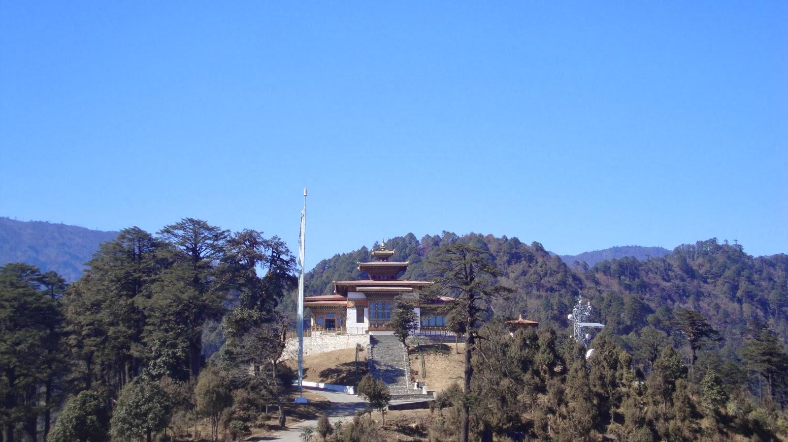 Druk Wangyal Lhakhang, Dochula Pass