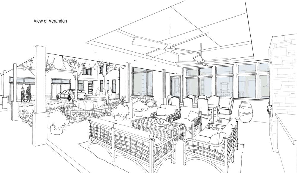 MCM DESIGN: Co-housing Manor Inside