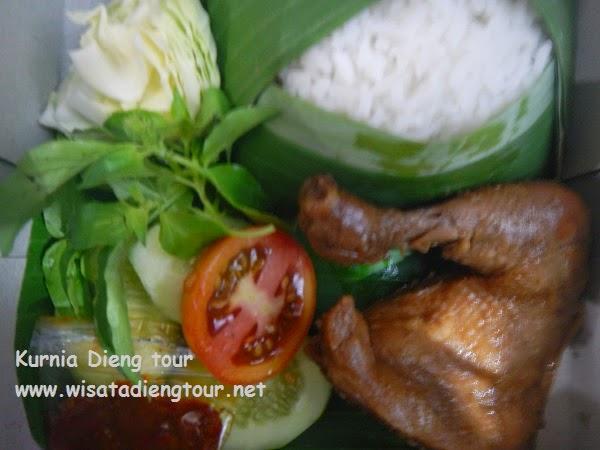 menu catering di dieng wonosobo