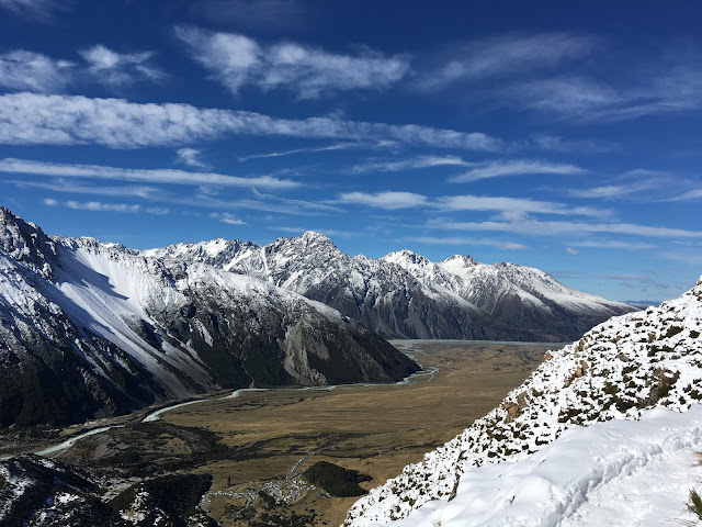 New Zealand Aoraki Mount Cook National Park