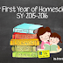 Our First Year Of Homeschool | SY 2015-16