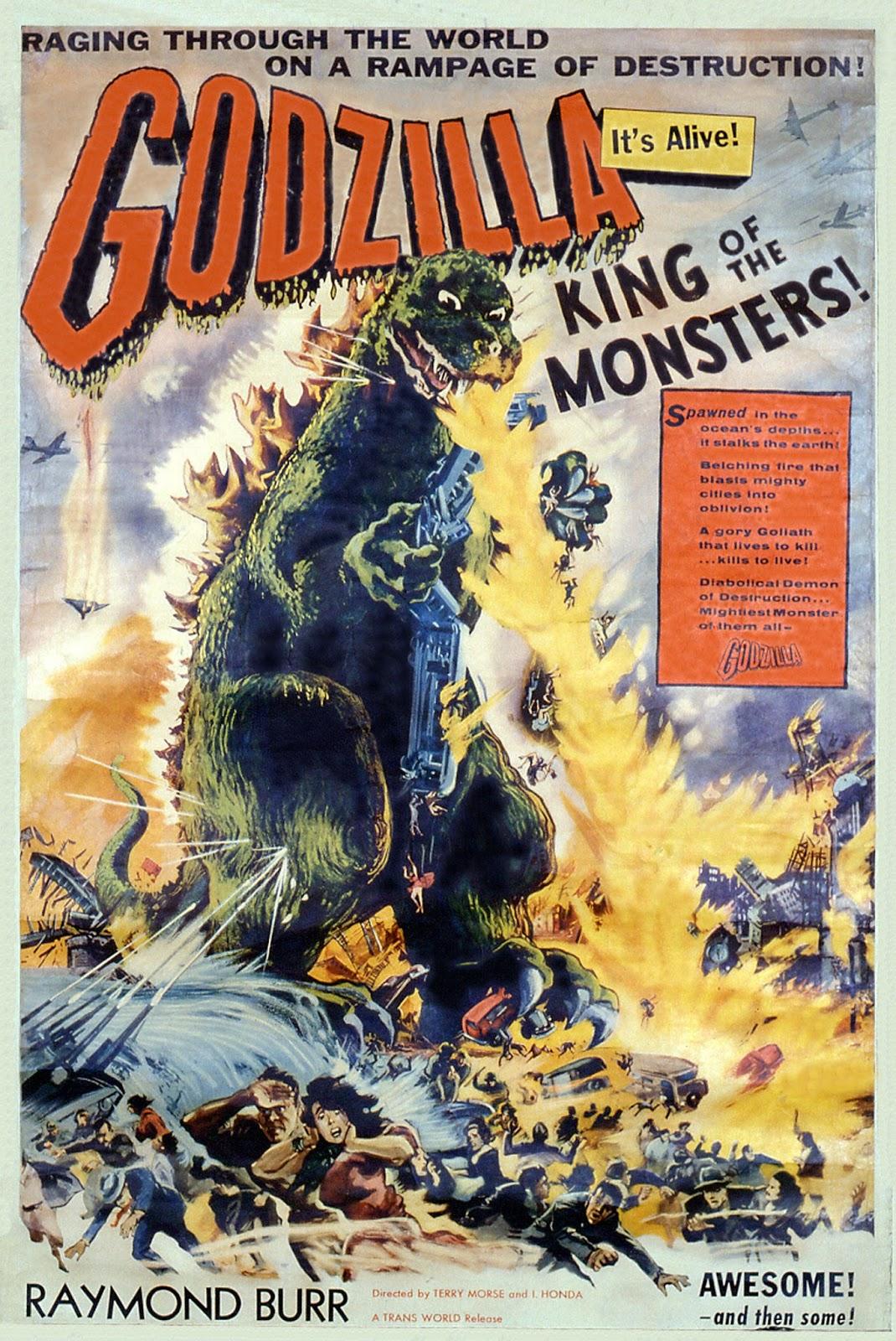 Godzilla king of the monsters 2019 book Burning godzilla reddit