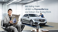 Bảo dưỡng nhanh Mercedes tại Đại lý Mercedes