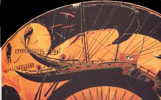387 π.Χ. Οι Σπαρτιάτες μπαίνουν στο λιμάνι του Πειραιά και αχρήστευσαν πολλά πολεμικά αθηναϊκά πλοία. Η πρώτη καταγεγραμμένη πράξη δολιοφθοράς στην Ιστορία
