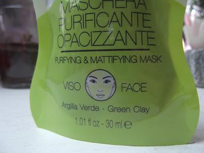 Čistiaca zmatňujúca maska so zeleným ílom