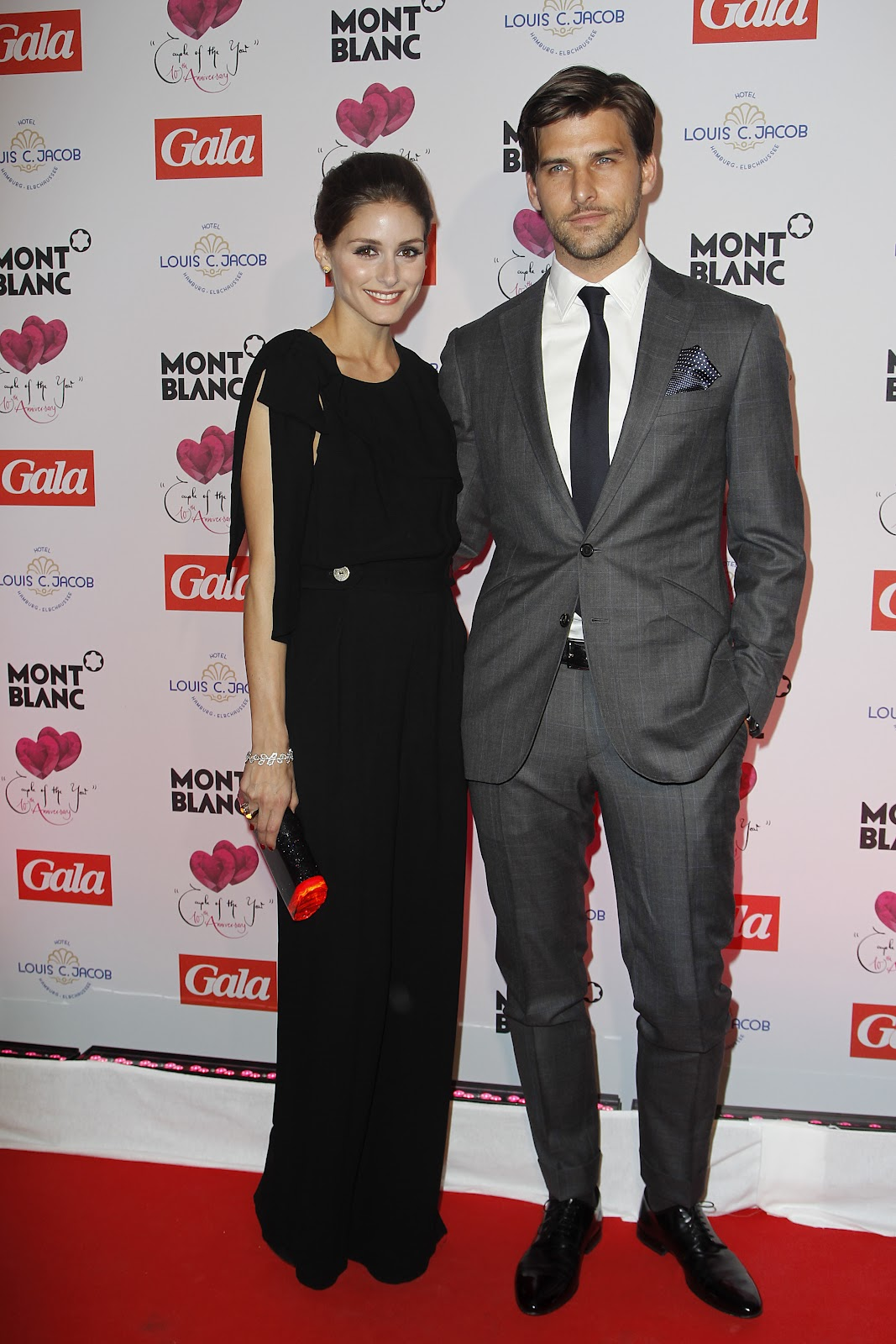 4e1e1b89bbc09e Olivia Palermo and Johannes Huebl, who have been dating for four years,  received a Couple of the Year award last year for