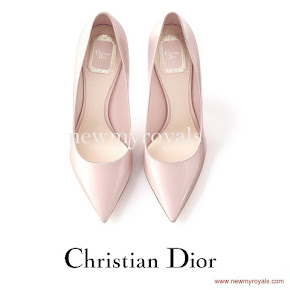 Crown Princess Victoria wore Christian Dior Pumps