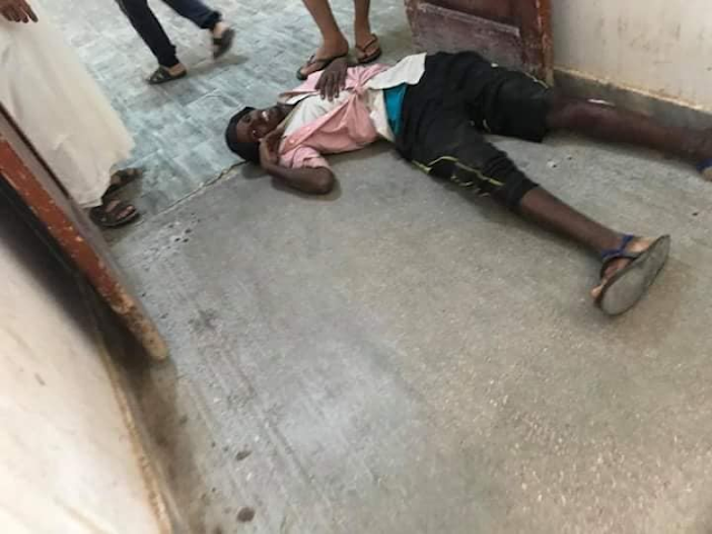 Photos: 20 illegal African immigrants wounded in human trafficker?s gunfire after mass escape in Libya