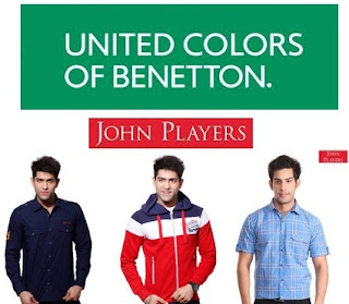 Snapdeal Sale: Flat 40% OFF on John Players Fashion Brand & 25% OFF on UCB Fashion Brand