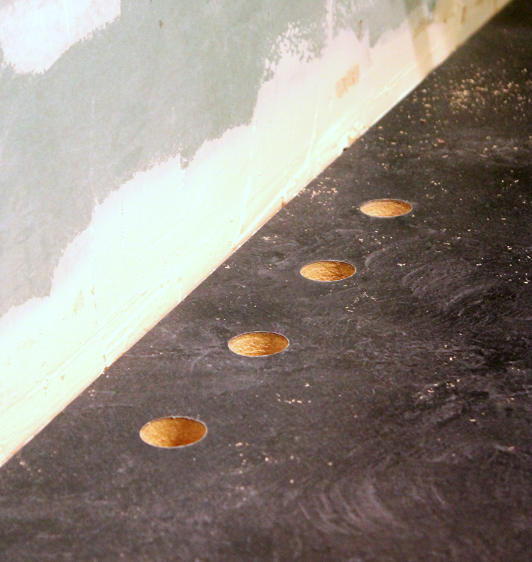 how to cut out sink hole in laminate countertops