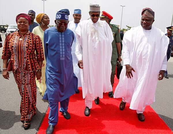 PDP Lampoons Buhari For Commissioning Ambode's Bus Stop