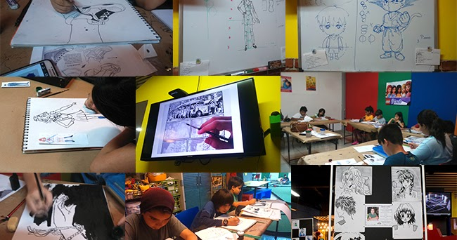 Dibujos Y Sketches De Jane Lasso Enero 2015: Curso De Manga En Panamá Enero 2017