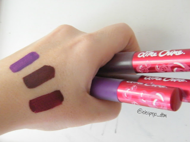 VELVETINES DUPES ALIEXPRESS IMITACION LIME CRIME
