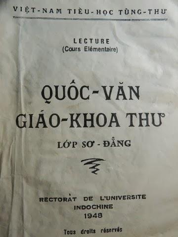 Image result for Quốc Văn giáo Khoa Thư ngày xưa