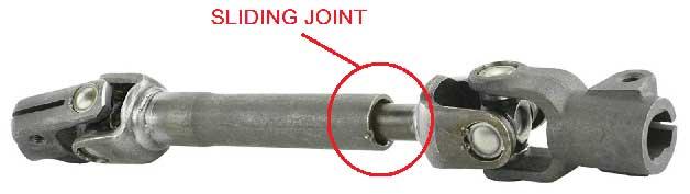 Sliding Joint of Propeller Shaft.